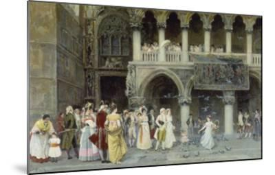 A Venetian Wedding, 1900-Gabriel Puig Roda-Mounted Giclee Print