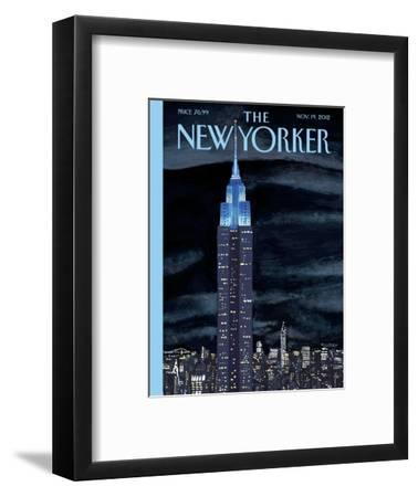 The New Yorker Cover - November 19, 2012-Mark Ulriksen-Framed Premium Giclee Print