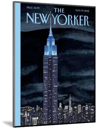 The New Yorker Cover - November 19, 2012-Mark Ulriksen-Mounted Premium Giclee Print