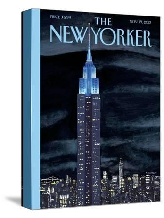The New Yorker Cover - November 19, 2012-Mark Ulriksen-Stretched Canvas Print