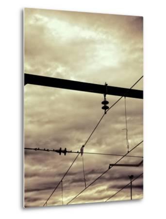 Power Lines-Steve Allsopp-Metal Print