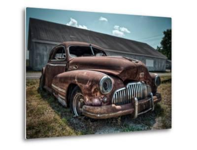 Red Buick-Stephen Arens-Metal Print