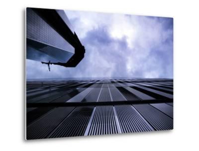 Freedom Tower and Wtc 7, Manhattan, New York City-Sabine Jacobs-Metal Print