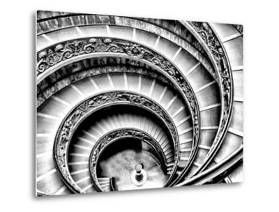 Spiral Staircase-Andrea Costantini-Metal Print