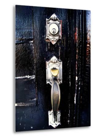 Entry in Black-Jody Miller-Metal Print