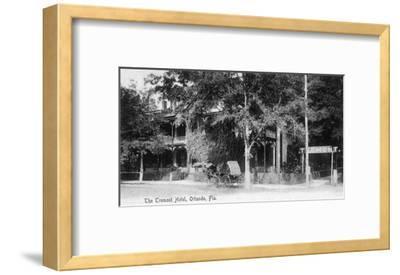 Orlando, Florida - Tremont Hotel Exterior View-Lantern Press-Framed Art Print
