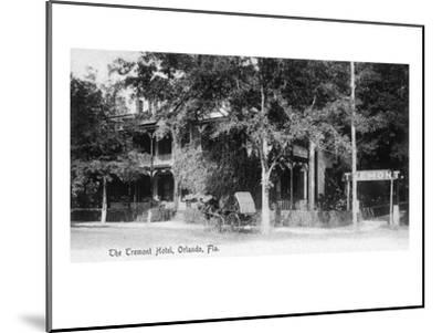 Orlando, Florida - Tremont Hotel Exterior View-Lantern Press-Mounted Art Print