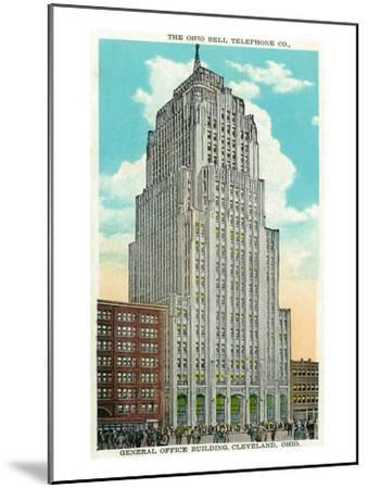 Cleveland, Ohio - Oh Bell Telephone Co Building Exterior-Lantern Press-Mounted Art Print