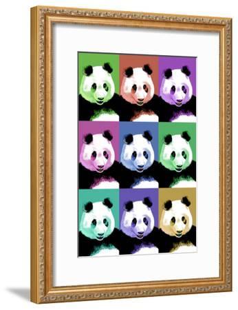 Panda Pop Art - Visit the Zoo-Lantern Press-Framed Art Print