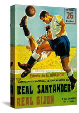 Futbol Promotion-Lantern Press-Stretched Canvas Print