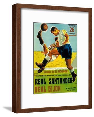 Futbol Promotion-Lantern Press-Framed Art Print