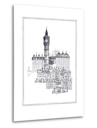 Big Ben-Avery Tillmon-Metal Print