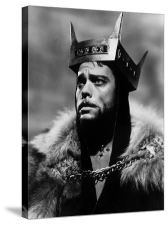 Macbeth, Orson Welles, 1948--Stretched Canvas Print