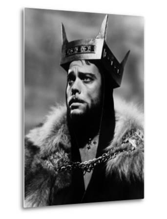 Macbeth, Orson Welles, 1948--Metal Print