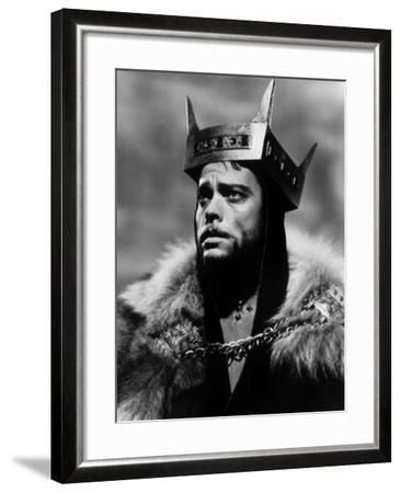 Macbeth, Orson Welles, 1948--Framed Photo