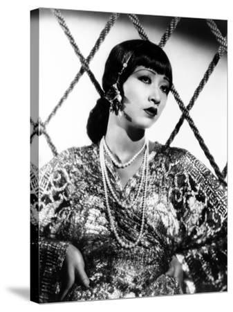 Anna May Wong, ca. 1930s--Stretched Canvas Print