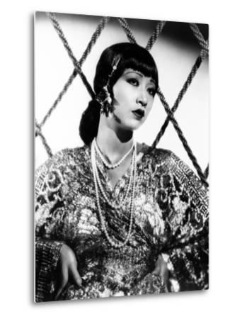 Anna May Wong, ca. 1930s--Metal Print