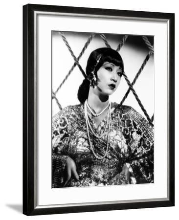 Anna May Wong, ca. 1930s--Framed Photo