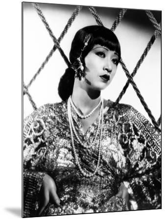 Anna May Wong, ca. 1930s--Mounted Photo