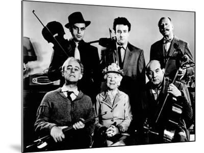 The Ladykillers, Alec Guinness, Herbert Lom, Katie Johnson, Peter Sellers, Danny Green, 1955--Mounted Photo