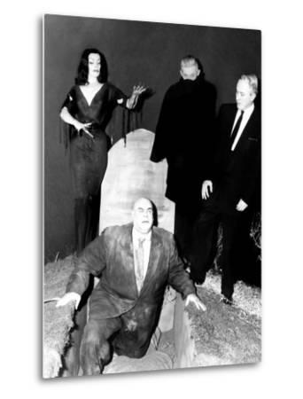 Plan 9 From Outer Space, Vampira, Tor Johnson, Dr. Tom Mason (Bela Lugosi's Double), Criswell, 1959--Metal Print