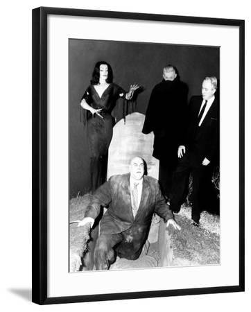 Plan 9 From Outer Space, Vampira, Tor Johnson, Dr. Tom Mason (Bela Lugosi's Double), Criswell, 1959--Framed Photo