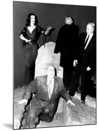 Plan 9 From Outer Space, Vampira, Tor Johnson, Dr. Tom Mason (Bela Lugosi's Double), Criswell, 1959--Mounted Photo