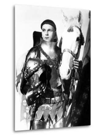 Henry V, Laurence Olivier, 1944, with Horse--Metal Print