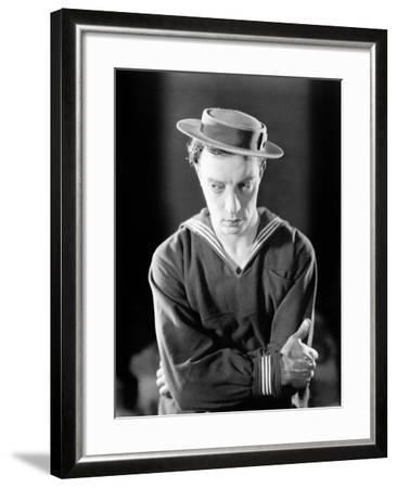 The Navigator, Buster Keaton, 1924--Framed Photo