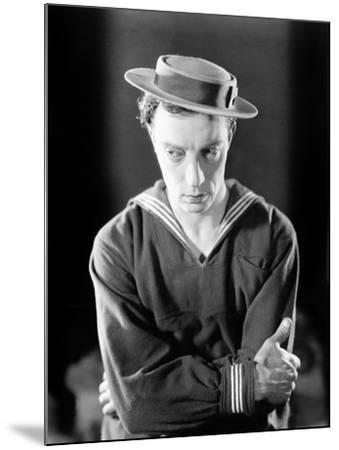The Navigator, Buster Keaton, 1924--Mounted Photo