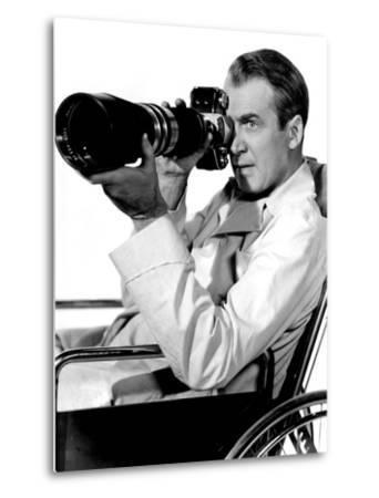 Rear Window, James Stewart, 1954--Metal Print