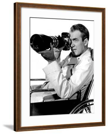 Rear Window, James Stewart, 1954--Framed Photo