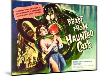 Beast From Haunted Cave, Sheila Carol, (Lobbycard), 1960--Mounted Photo