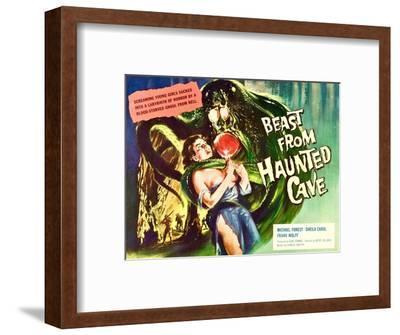 Beast From Haunted Cave, Sheila Carol, (Lobbycard), 1960--Framed Photo