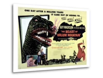 Beast of Hollow Mountain, 1956--Metal Print