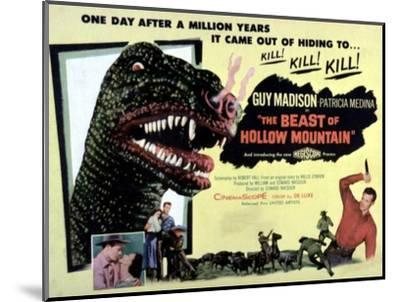 Beast of Hollow Mountain, 1956--Mounted Photo