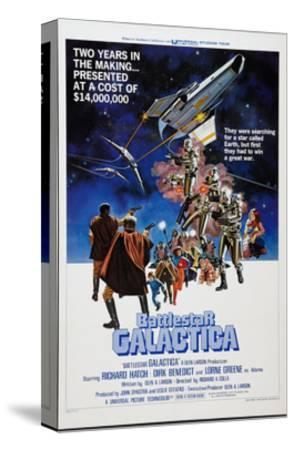 Battlestar Galactica, 1978--Stretched Canvas Print