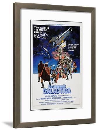 Battlestar Galactica, 1978--Framed Photo
