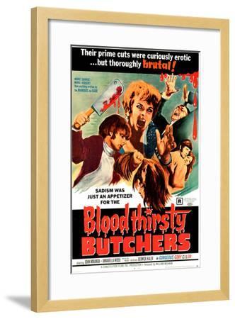 Bloodthirsty Butchers, 1970--Framed Photo