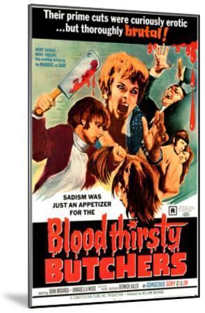 Bloodthirsty Butchers, 1970--Mounted Photo