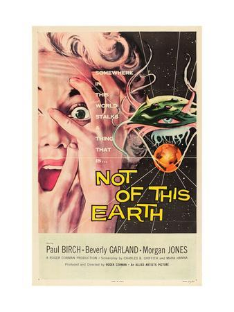 Not of This Earth, Beverly Garland, 1957--Framed Photo