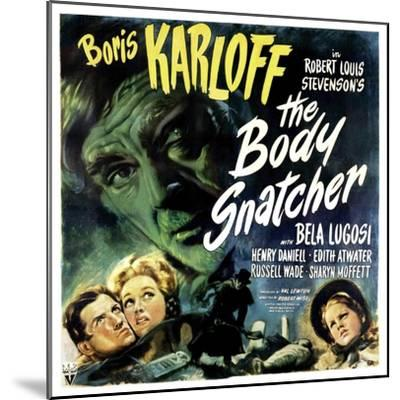 The Body Snatcher, Boris Karloff (Top), Sharyn Moffett (Bottom, Right), 1945--Mounted Photo