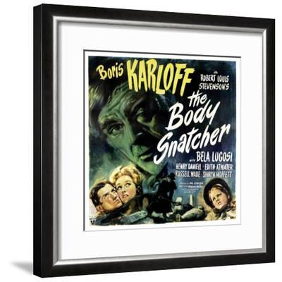 The Body Snatcher, Boris Karloff (Top), Sharyn Moffett (Bottom, Right), 1945--Framed Photo