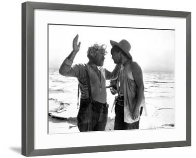 Greed, Gibson Gowland, Jean Hersholt, 1924, Holding at Gunpoint--Framed Photo
