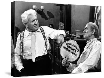 Inherit the Wind, Spencer Tracy, Fredric March, 1960--Stretched Canvas Print