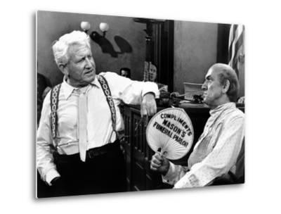Inherit the Wind, Spencer Tracy, Fredric March, 1960--Metal Print