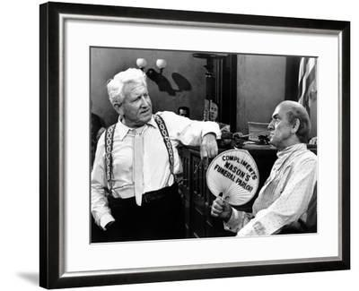 Inherit the Wind, Spencer Tracy, Fredric March, 1960--Framed Photo