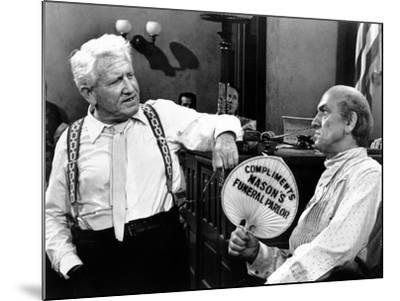 Inherit the Wind, Spencer Tracy, Fredric March, 1960--Mounted Photo