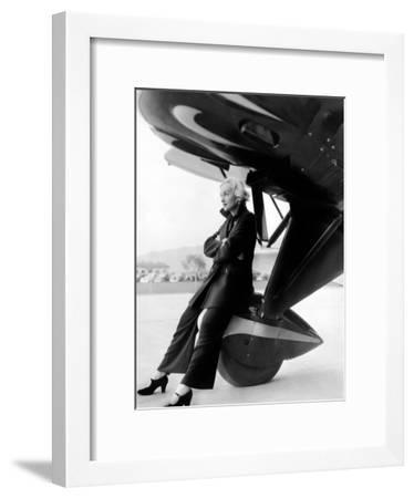 Carole Lombard, 1935--Framed Photo