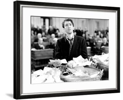 Mr. Smith Goes to Washington, James Stewart, 1939--Framed Photo